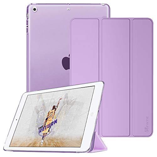Fintie Hülle für iPad Mini 3 / iPad Mini 2 / iPad Mini - Ultradünne Superleicht Smart Schutzhülle mit Transparenter Rückseite Abdeckung Cover mit Auto Schlaf/Wach Funktion, Lavendel (Fintie Ipad Mini 2 Case Tastatur)