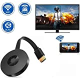 Frittle MID1 Chromecast 4K Digital Media Stream HDTV WiFi HDMI Wireless Display Dongle for All iOS,Android & Windows Device (Assorted Colour)