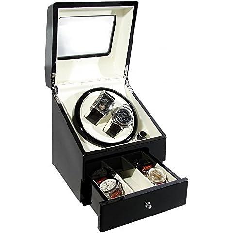 Reloj automático de lujo CKB Ltd euros de la caja de reloj con enrollador con el doble de - 4 A través de los modos de contador de tiempo - Motor silencioso de primera calidad
