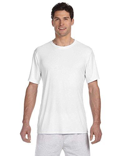 Hanes 4820Hanes Cool Dri Tagless Herren T-Shirt xl Weiß - weiß (Wick Cool-dri)