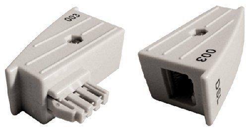 TAE RJ45 DSL Adapter für AVM Fritz!Box o. Speedport – 4/5 belegt, nicht 1/8