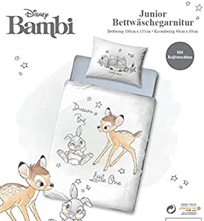 Offiziell Disney Bambi Wasser Flasche mit Golden Deckel 900 Ml Ca.