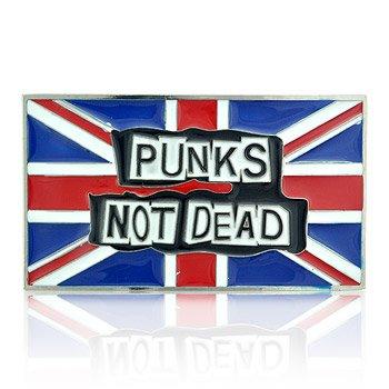 Fibbia Per Cintura Punks Not Dead Blue Banana (Blu/Rosso)
