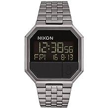Nixon Reloj Digital para Hombre de japonés con Correa en Acero Inoxidable ...