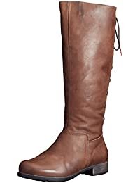 klassische Stiefel Lederschuhe Damen Lammfell Leder 7 87219
