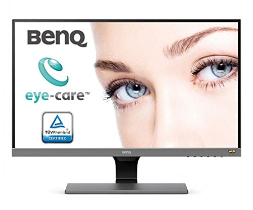 BenQ EW277HDR 68,58 cm (27 Zoll) Eye-Care LED Monitor (1920 x 1080 Pixel, Full HD, REC. 709, DCI-P3, HDR Mode, AMVA+ Panel) grau
