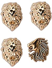 Knighthood Gold Alloy Lapel Pin for Men