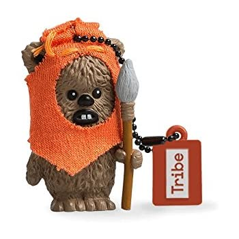 Official Star Wars Wicket Ewok USB Memory Stick Flash Drive in 2 Sizes