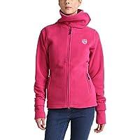 Damen Fleece Jacke AMY pink