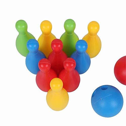 ZHOUMEI Good for The Brain CHNWJ-Toys Bowling-Set mit Kopfbedeckung aus PU-Leder für Boxen, MMA, UFC, Muay Thai, Kickboxen, Kampfsport, Family-Bowling-Spielzeug, Farbe: 17 cm, Siehe Abbildung, 17 cm