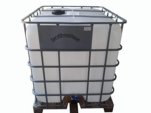 une cuve IBC 1000L pour réserve d'eau (pas de livraison en corse ou ile)