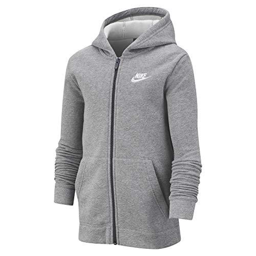 Nike Kinder Freizeit-Sport-Trainingsanzug B NSW CORE Track Suit Baumwolle grau, Größe:S(128-140)