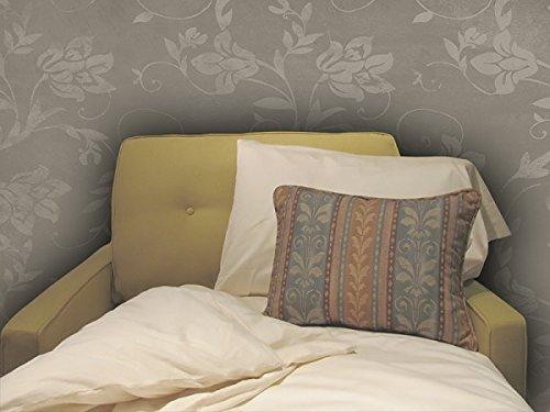 Gotcha die Kollektion Classic American Leder Komfort Sleeper Weiß Baumwolle Perkal-Bettlaken-Set Kinderbett weiß -