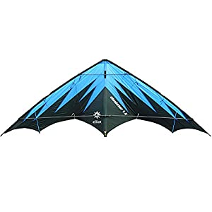 Elliot - 1018002 stuntkite / Potencia Gladiador 1.8, Negro / Azul rtf,