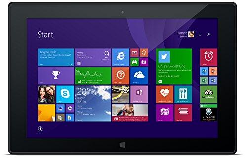 Odys Wintab 9 Plus 3G 22,6 cm (8,9 Zoll) Tablet-PC (Intel Atom Quad Core, 1,83 GHz, 2 GB DDR III RAM, 32 GB Flash HDD, Windows 8.1, Office 365, Full HD IPS Farbbildschirm (1920 x 1200), BT 4.0, 3G Funktion) schwarz