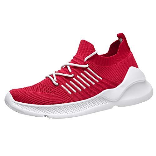 Oyedens Scarpe da Ginnastica Uomo Air Running Sneakers Basse Sneakers Interior Casual all'Aperto Corsa Sportive Fitness Palestra Comode per Camminare Jogging
