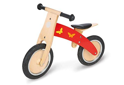Imagen principal de Pinolino 239449 - Bicicleta de madera para niños, color rojo [Importado de Alemania]