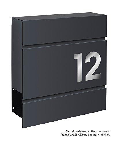 Frabox LENS Briefkasten Anthrazitgrau Design - 7