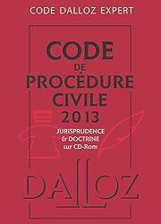 Code Dalloz Expert. Code de procédure civile 2013 - 9e éd.: Codes Dalloz Expert