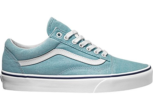 Vans Herren Ua Old Skool Sneakers (washed Canvas) Blue Radiance/crown Blue