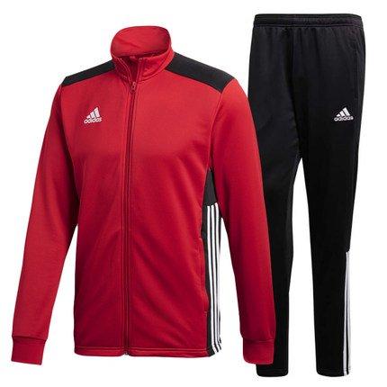 adidas Herren Regista 18 Polyesteranzug Trainingsanzug, Power red/Black/White, XL