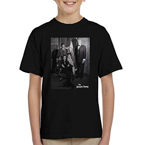 The Addams Family Portrait Kid's T-Shirt (Der Addams Fester Von Family)