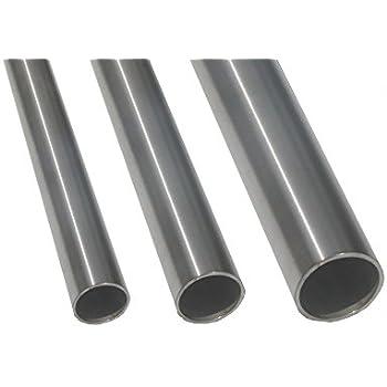 """1000 mm Rohr 42,4 x 2,5 mm 100 cm 5//4/"""" Konstruktionsrohr geschliffen 1 m"""