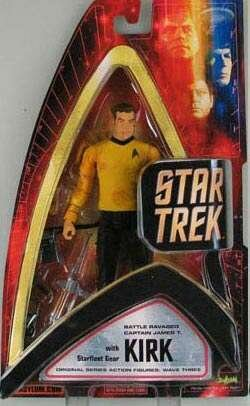 Star Trek Captain Kirk Filmfigur Figur OVP Neu