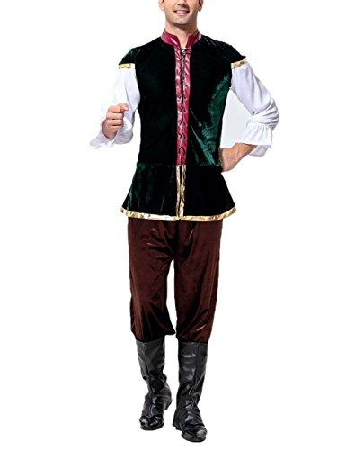 ostüme Halloween Cosplay Anzug für Performance Show (Männlichen Oktoberfest Kostüme)