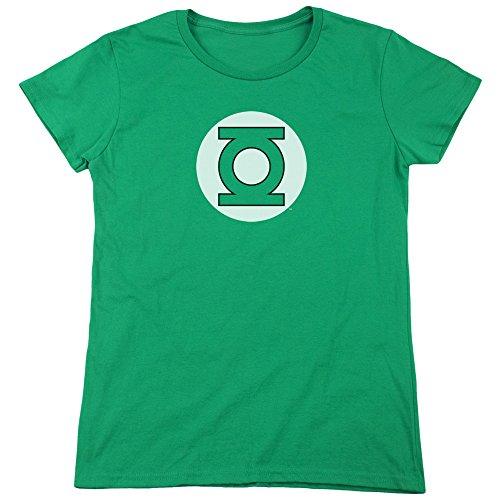 DC Comics Damen T-Shirt Kelly Green