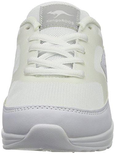 KangaROOS - Kanga X 3200, Pantofole Unisex – Bambini Bianco