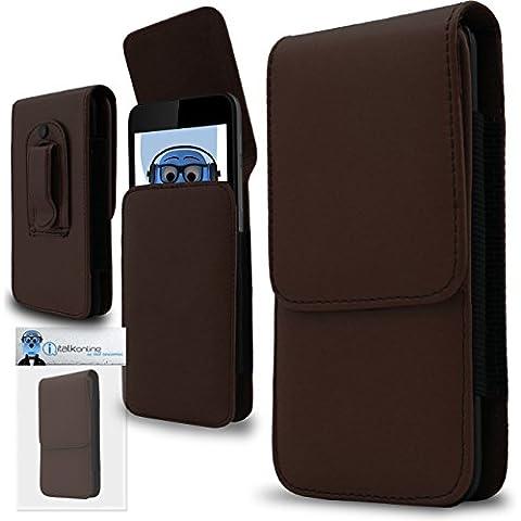 iTALKonline Palm Treo Pro PU Pelle MARRONE