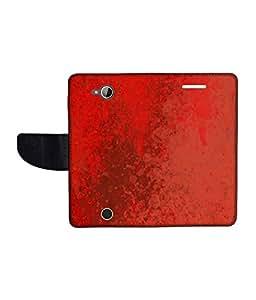 KolorEdge Printed Flip Cover For Acer Liquid Z530 Multicolor - (1478-50KeMLogo11821AcerZ530)