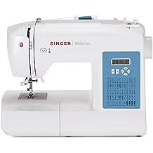 Máquina de coser electrónica Singer Brilliance 6160 (60 funciones de costura)