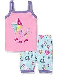 Hatley 100% Organic Cotton Tank Pyjama Set, Conjuntos de Pijama para Niños
