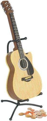 My Music Geschenke Akustische Gitarre Metall Spardose