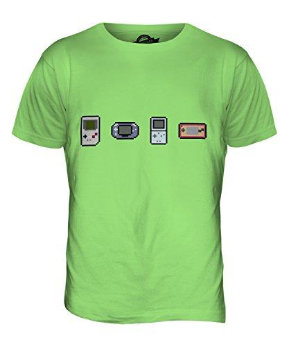 CandyMix Entwicklung Von Videospielen Herren T Shirt Limettengrün