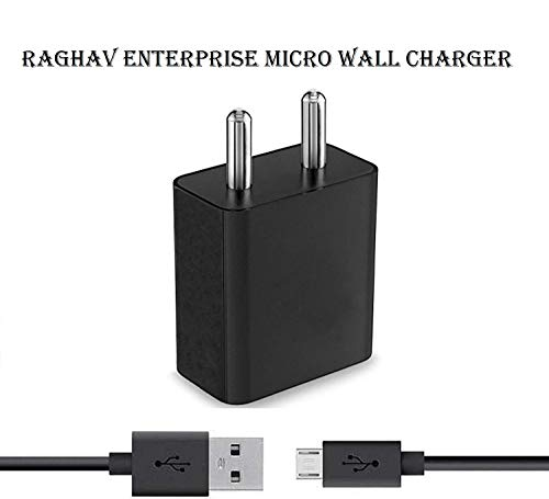 Ragav Enterprise Compatible Samsung I9190 Galaxy S4 mini / Samsung S4 (S 4) mini Mobile Charger Wall USB Charger Power Adapter Universal Fast Charger Android Smartphone Charger Battery Charger Smart Charger Hi Speed Travel Charger Best High Quality Lower Price Charger With 1.2 Meter Micro USB Charging Data Cable ( BLACK )