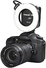SainSonic Aputure Amaran Halo AHL-HC100 CRI 95+ Led Macro Ring Video Light Flash Light For Canon Camera Dslr