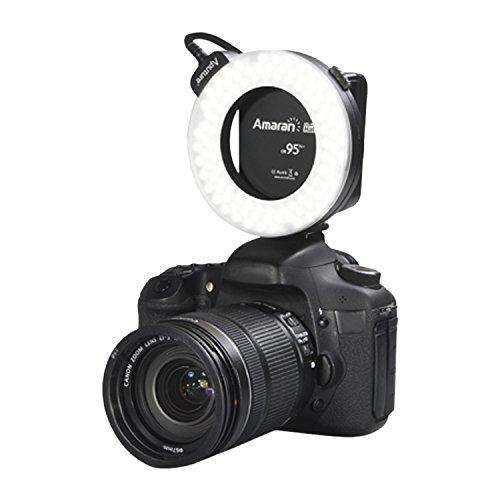 Aputure Amaran Halo AHL-HC100 LED-Ringblitz, 95+ Ra, für Canon Digitalspiegelreflexkameras