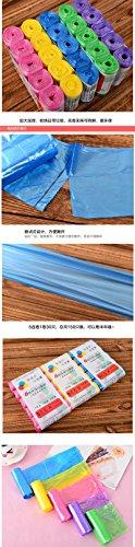 Readycor (TM) 5rolls da cucina trash spazzatura Sacchetti Spazzatura secchio Trash Can Strumenti di pulizia di buona qualità B2 Blue Green