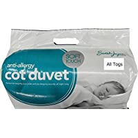 Anti-Allergy Baby/Toddler Cot/Cot Bed Duvet Available in 4.5 tog,7.5 tog And 9 tog + FREE U.K. DELIVERY