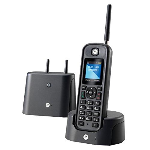 Motorola O201, Teléfono Fijo, Negro