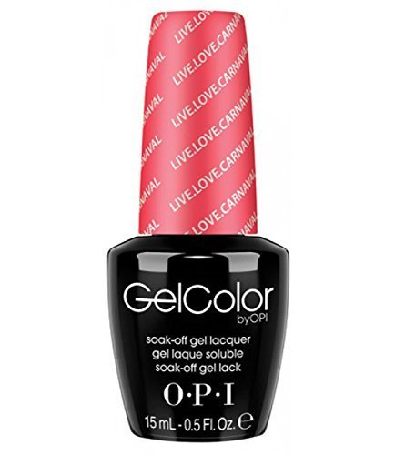 OPI Gel Nail Color, Live Love Carnaval, .5 Ounce by OPI