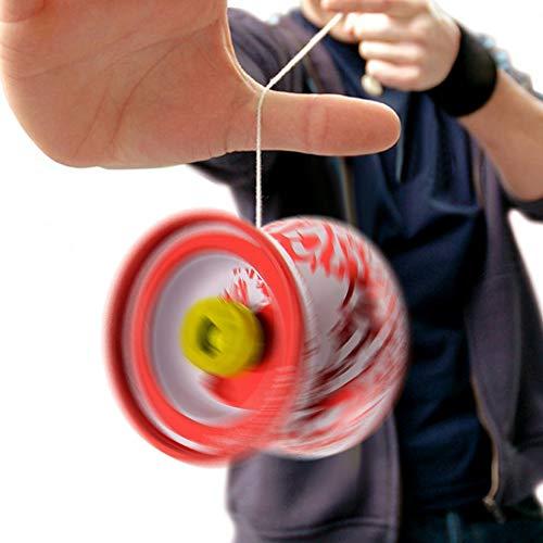 Dandeliondeme Lernspielzeug für Kinder, lustiges High-Speed-Metall-Yoyo-Ball, professionelles Handspiel für Kinder Zufällige Farbauswahl