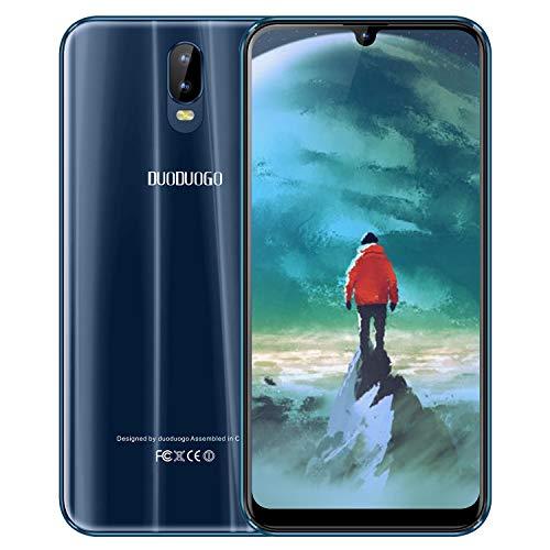 Moviles Libres 4G, S10 Smartphone de 6,3''Pulgadas IPS/HD, 64GB ROM 4GB RAM 4800mAh Batería, Android 8.1 Quad-Core Teléfono Móvil, Dual SIM Cámara 12MP+5MP Smartphone Libres Face ID (Verde)