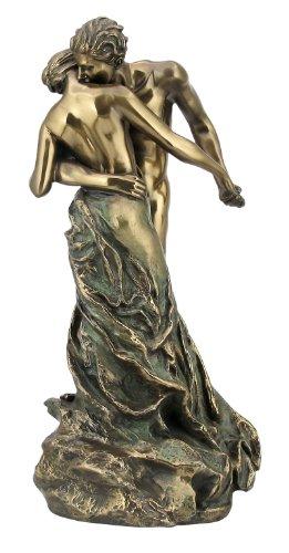 Erotik Figur der Walzer- la Valse, Akt, Kunststein bronziert, Body Talk (Bronze Figur Paar)