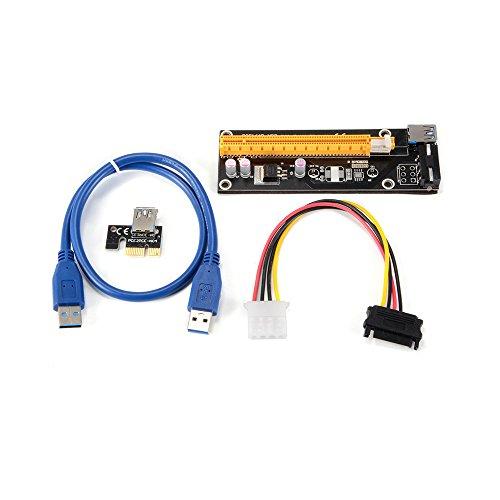 50cm USB 3.0 PCI-E Express 1X To 16X Extender Riser Card Mining Machin