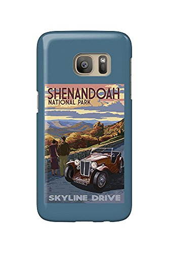 Shenandoah National Park, Virginia - Skyline Drive (Galaxy S7 Cell Phone Case, Slim Barely There) - Skyline Drive National Park