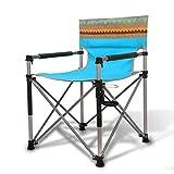 gj Chaise Pliante d'extérieur Chaise Portable Chaise de Plage Table Pliante et chaises Tabourets Mazar Chaise Chaise de pêche (Couleur : A4)